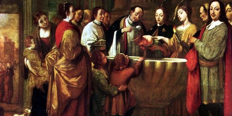 El Bautismo de niños en los padres de la Iglesia y la historia
