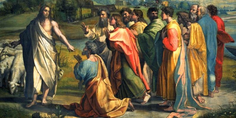 "¿Donde Jesús llamó a Pedro ""Papa""?"