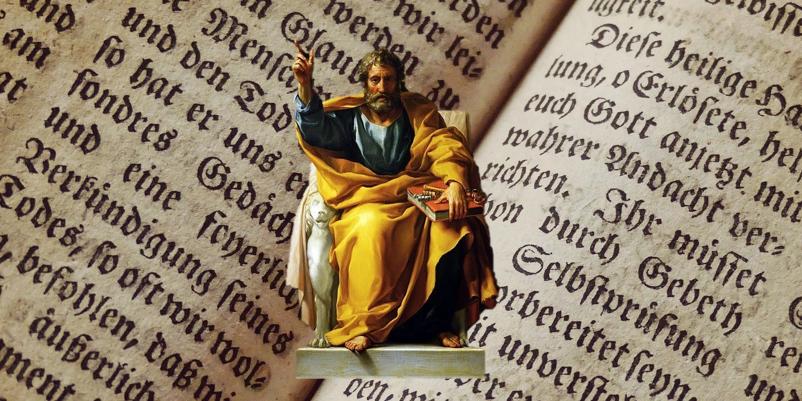 ¿Era Pedro la Piedra sobre la se edificaría la Iglesia en Mateo 16,18?